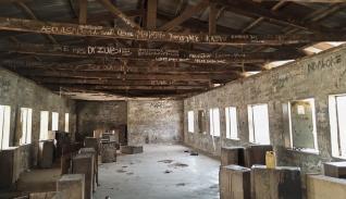 Vista de la escuela de Kagara, en Nigeria