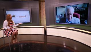 Adelita Coriat y Luis H Moreno en entrevista para El Polígrafo de La Estrella de Panamá