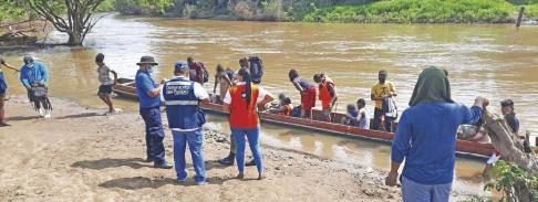 La variante Delta puede entrar a través de los migrantes irregulares