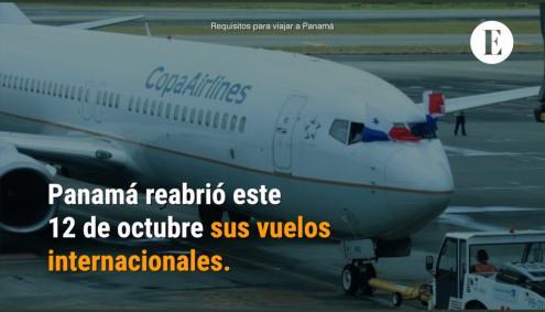 Conozca los requisitos para viajar a Panamá