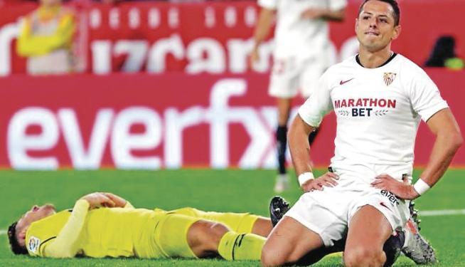 Chicharito ausente del entrenamiento mientras negocia su pase a la MLS 0