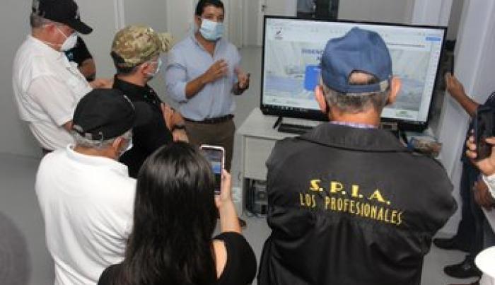 SPIA visita Hospital  Panamá Solidario