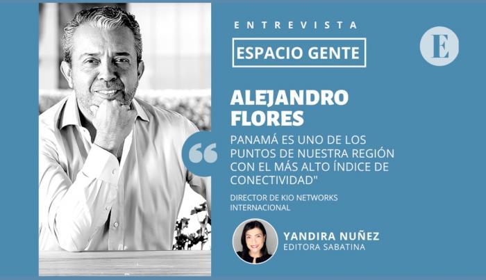 Alejandro Flores, director de KIO Networks Internacional