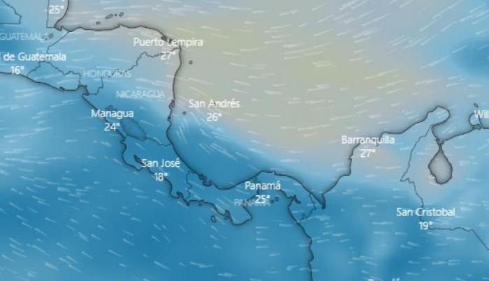polvo del Sahara - Panamá