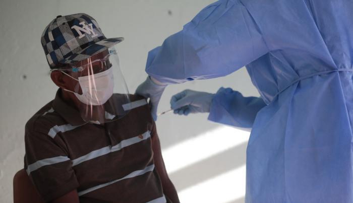 Vacunación en San Miguelito