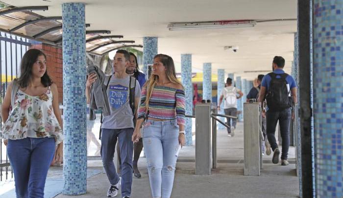 Estudiantes de la Universidad de Panamá