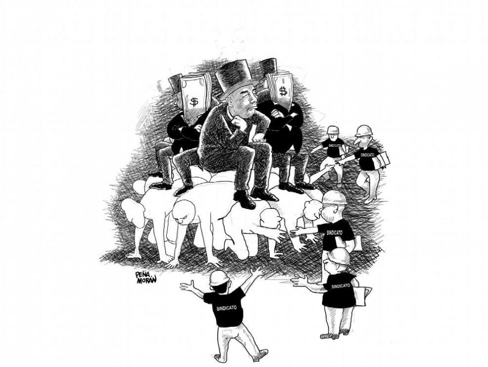 El derecho de los trabajadores a la organización sindical