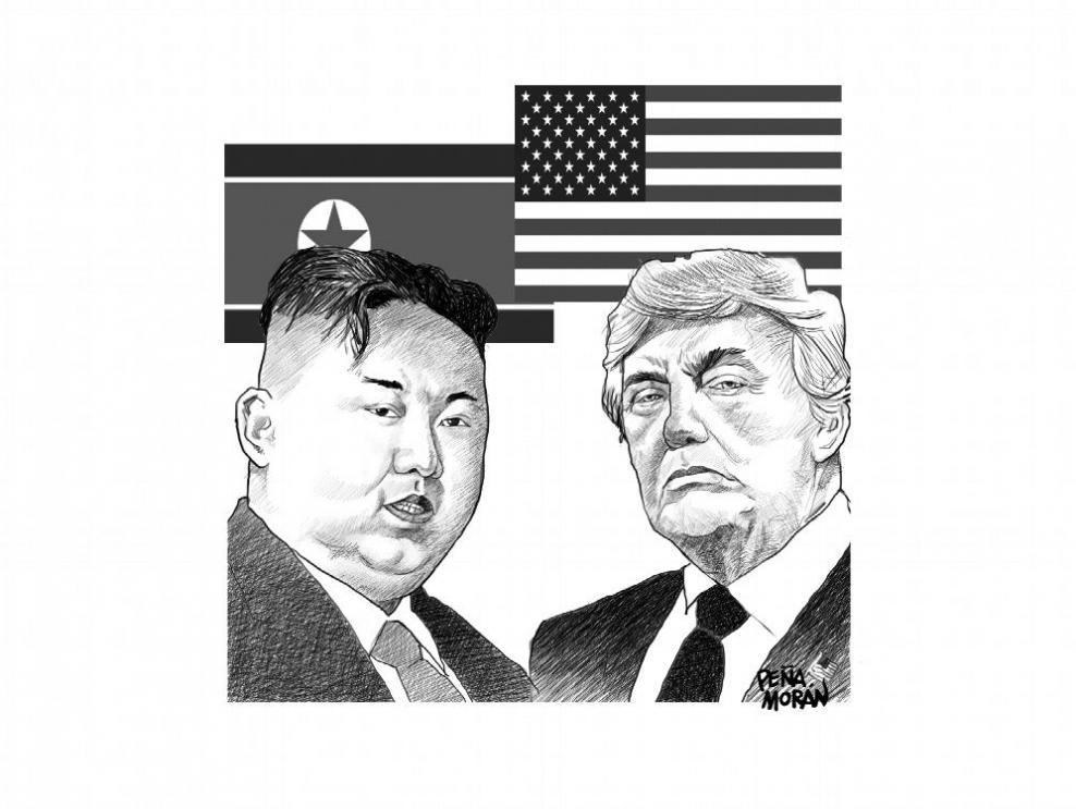 Las conversaciones entre Trump y Kim