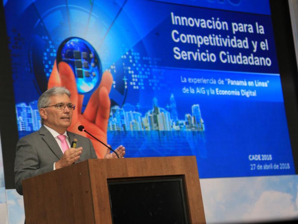 AIG expone avances de Gobierno Digitalen CADE 2018