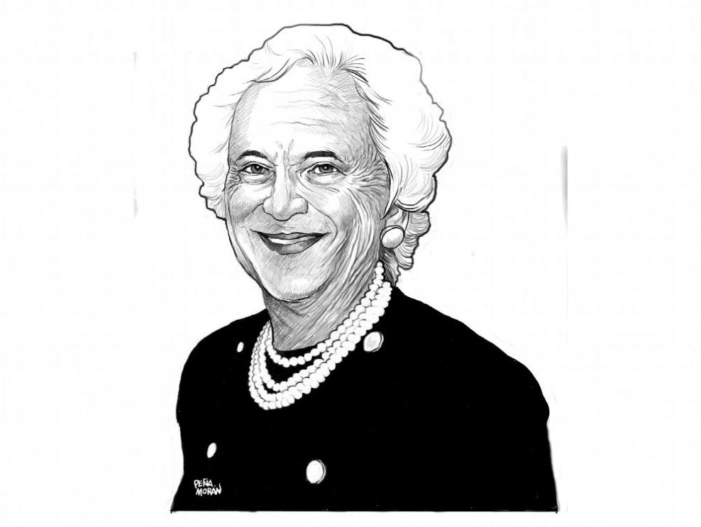 Barbara Bush, una señora primera dama