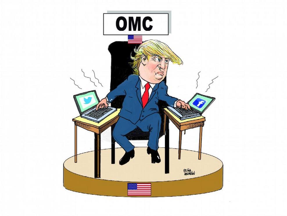 La crisis de la OMC, Trump y la desinformación