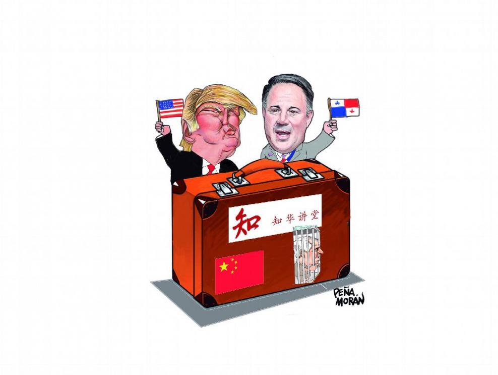 Martinelli, China y Trump