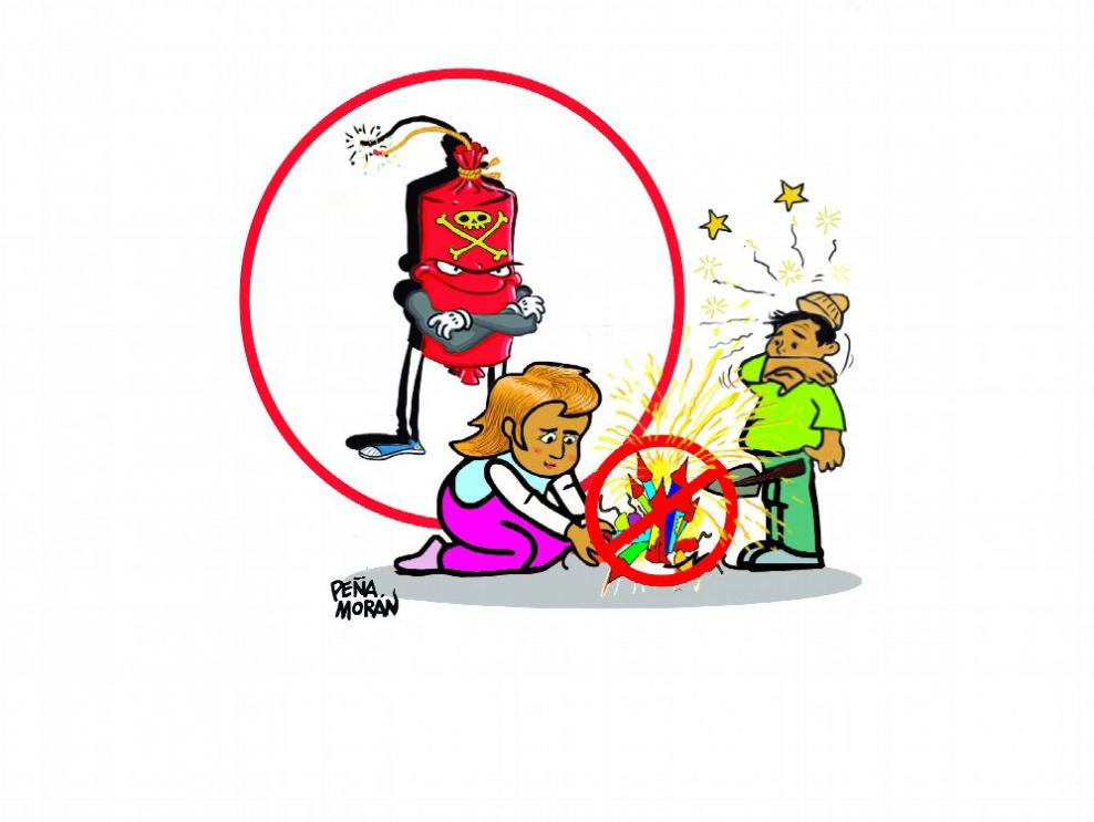 Juegos pirotécnicos, riesgos para todos