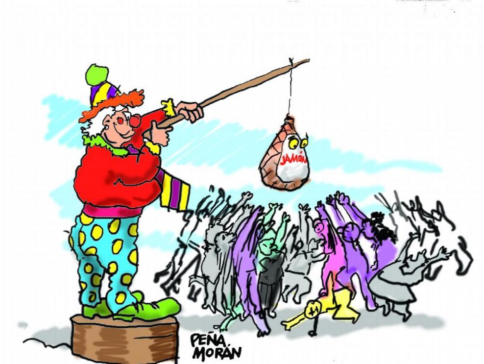 Jamones, fracasos escolares y corrupción