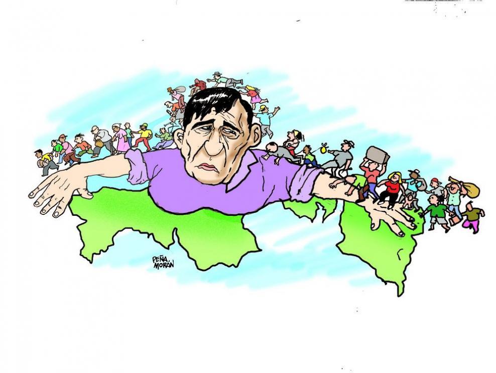 La migración masiva hacia Panamá
