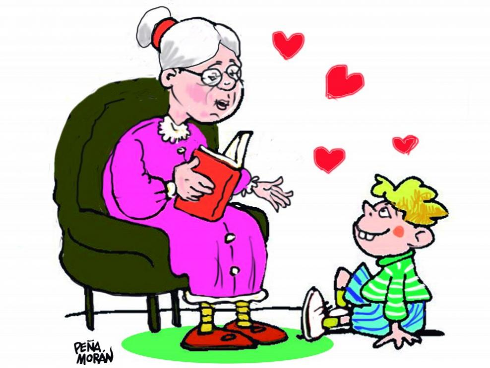 Diciembre es mes de las abuelas también