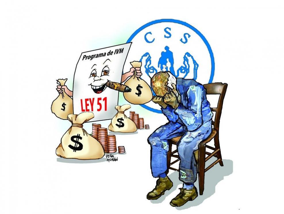¡Hay que derogar la Ley 51 que se robó las pensiones!