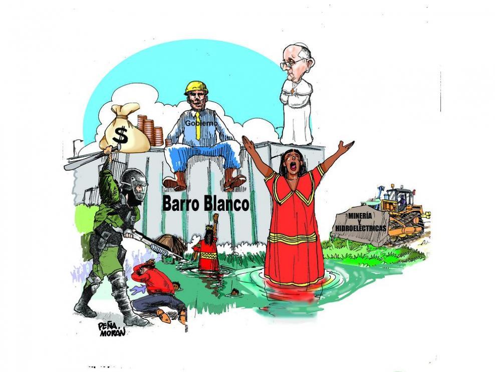 Barro Blanco y el papa Francisco