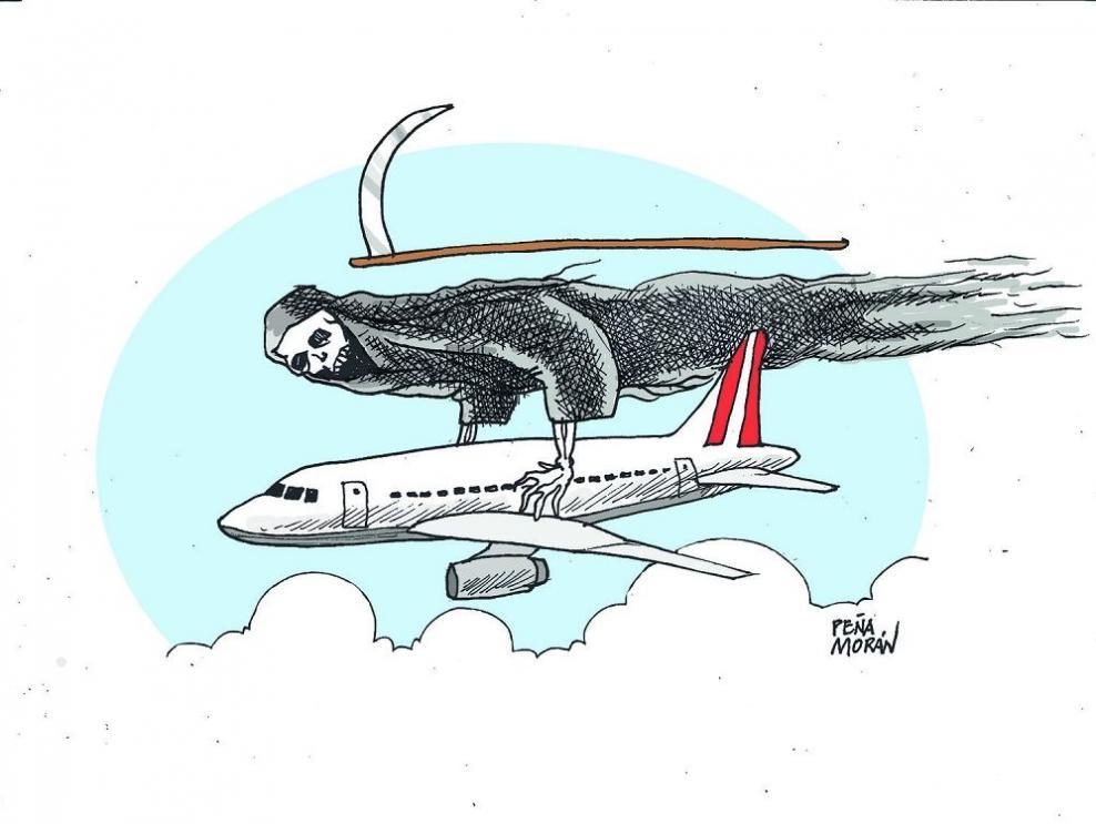 El riesgo de volar
