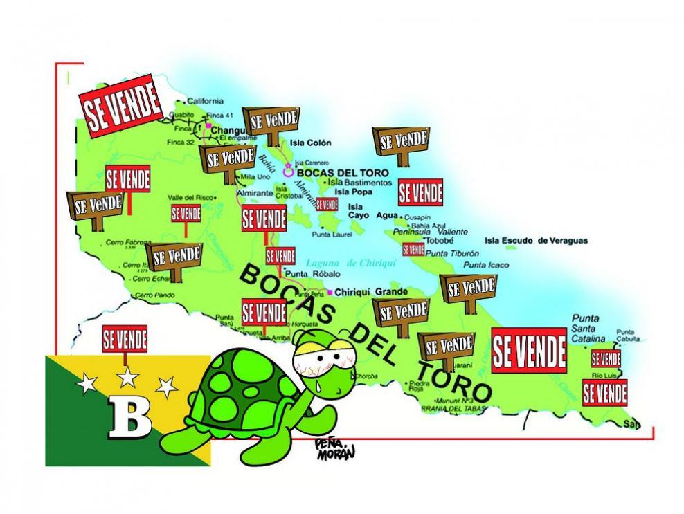 El misterio de una venta en Bocas del Toro
