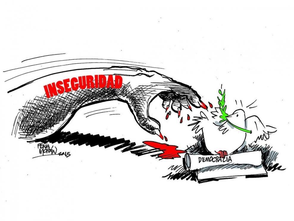 La inseguridad ataca a la democracia