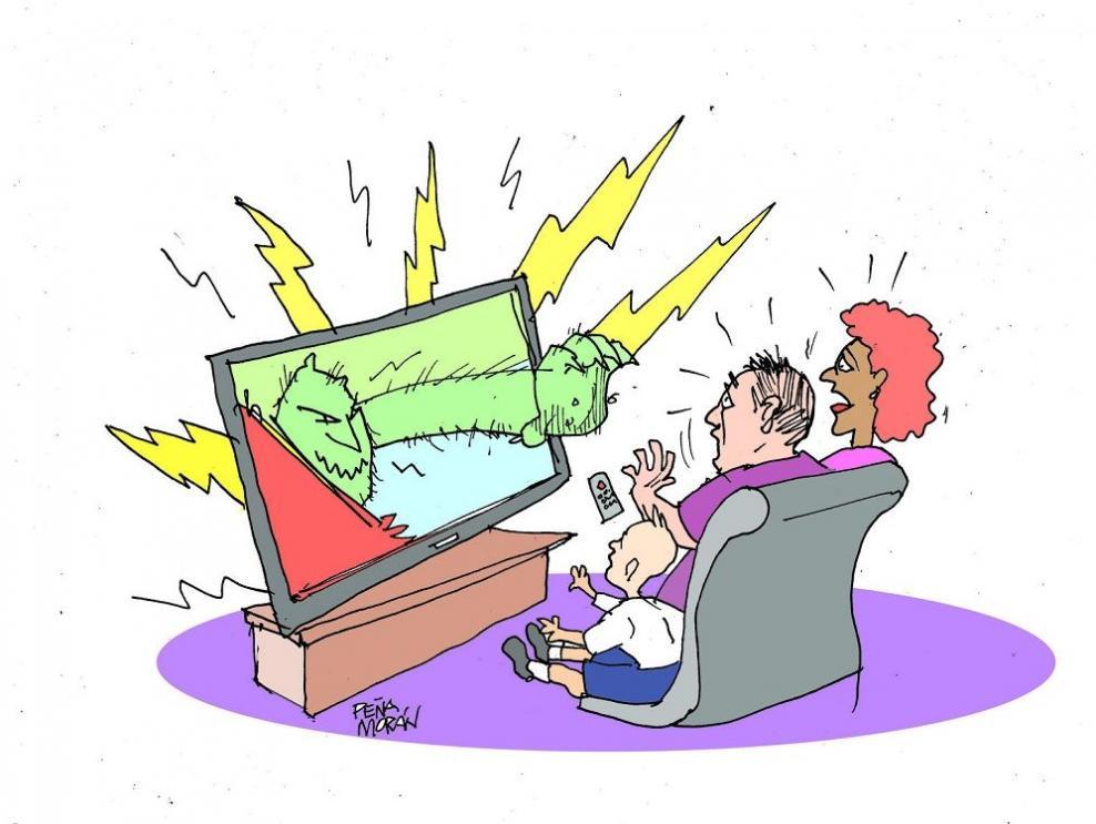 Medios: deterioro e hipocresía social