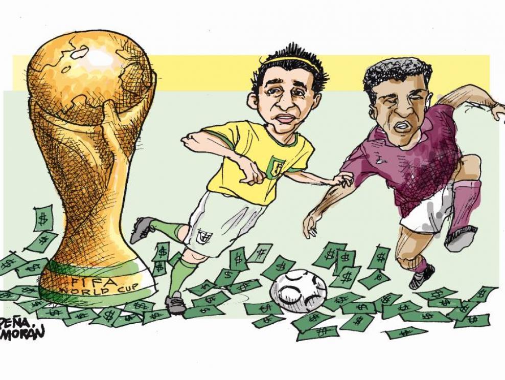 Corrupción y espectáculo en el Mundial de Fútbol