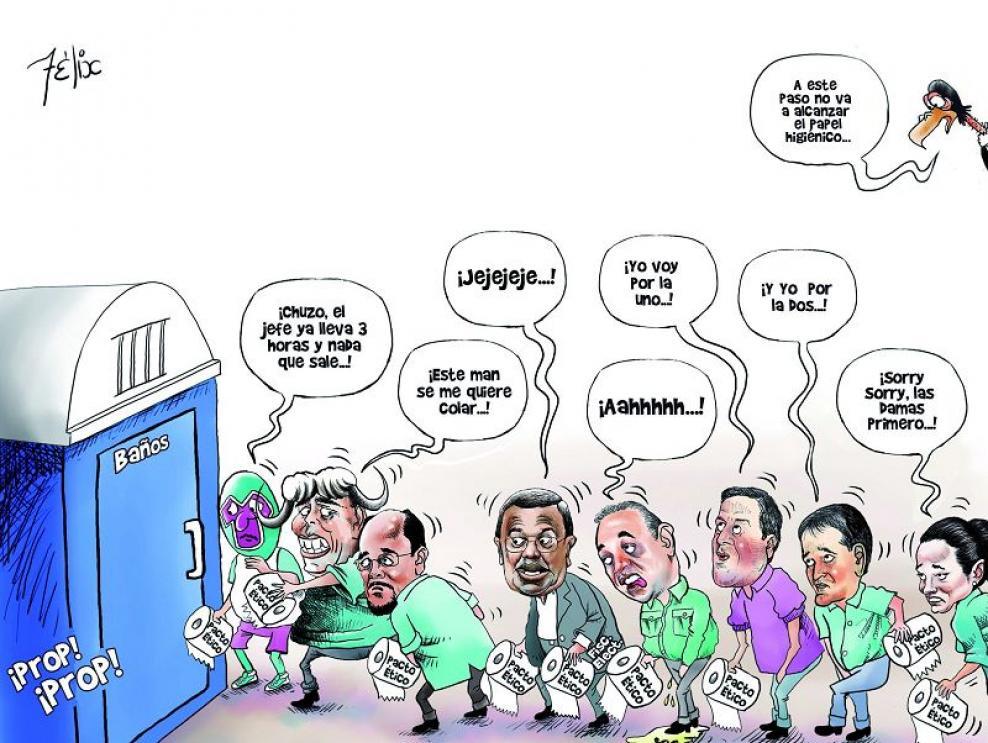 ¿Pacto ético electoral?