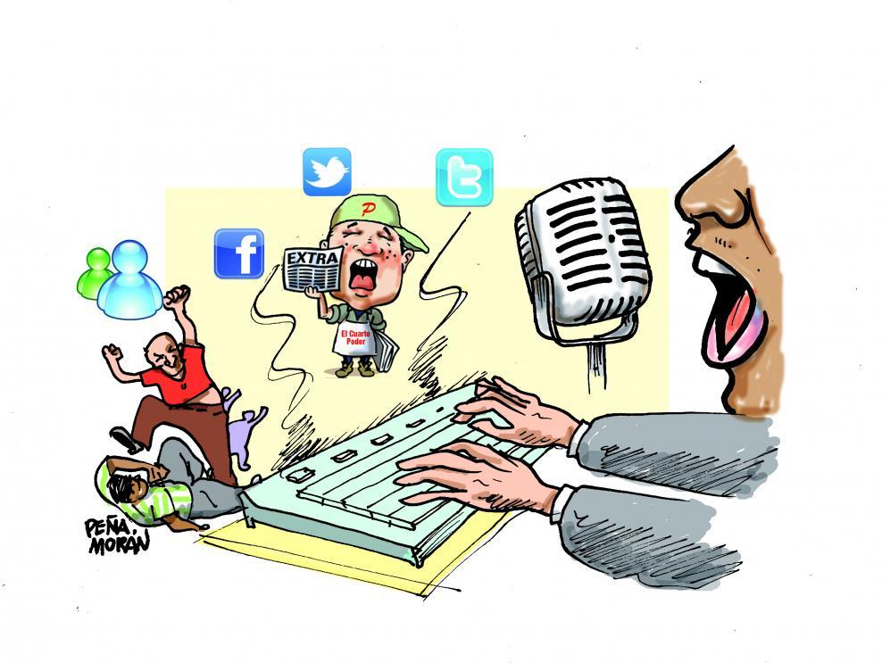 Prácticas mediáticas y política