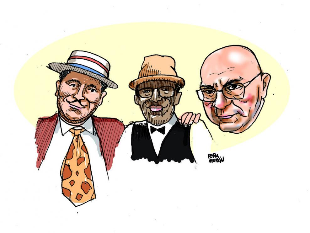 Un trío para reír