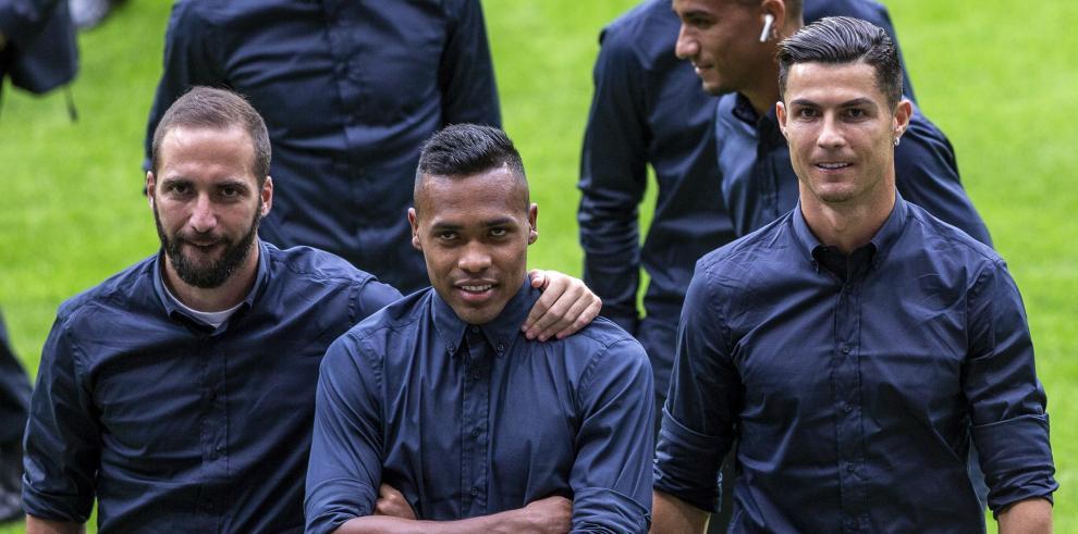 Los jugadores del Juventus
