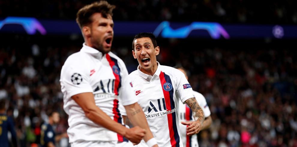 Angel Di María castigó a su ex club con un doblete