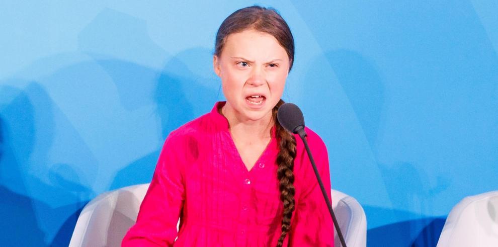 Greta Thunberg a los líderes mundiales: