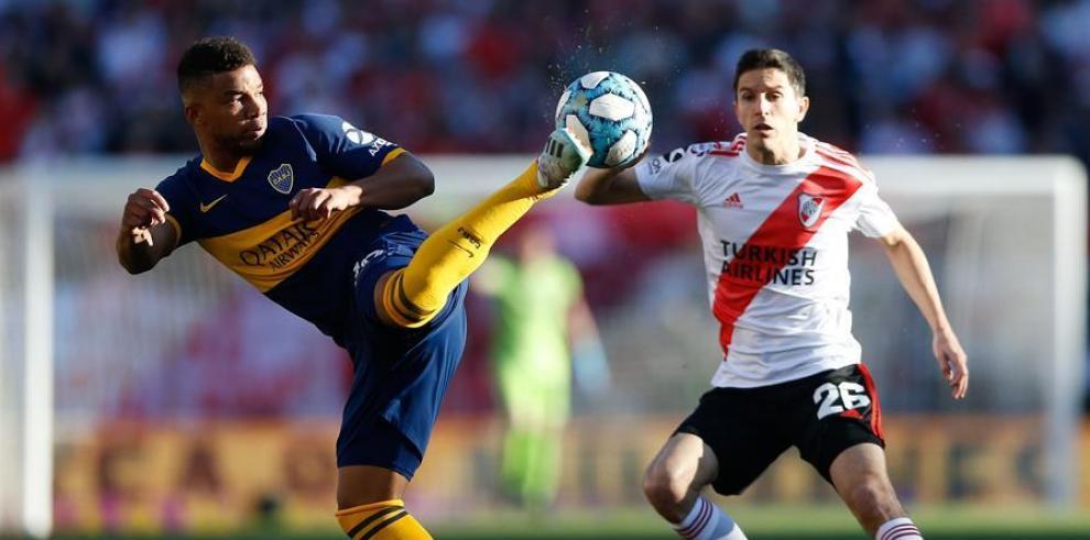 Fútbol River y Boca