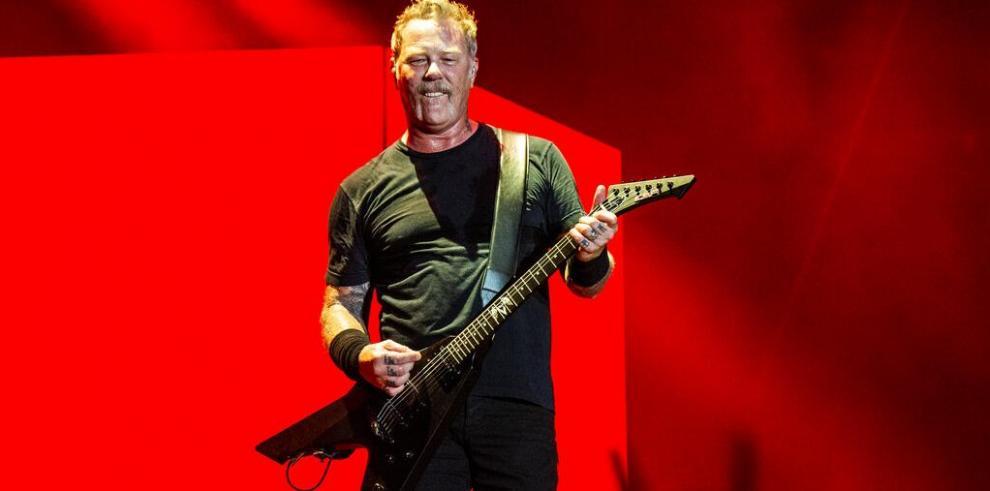 James Hetfield vocalista de Metallica