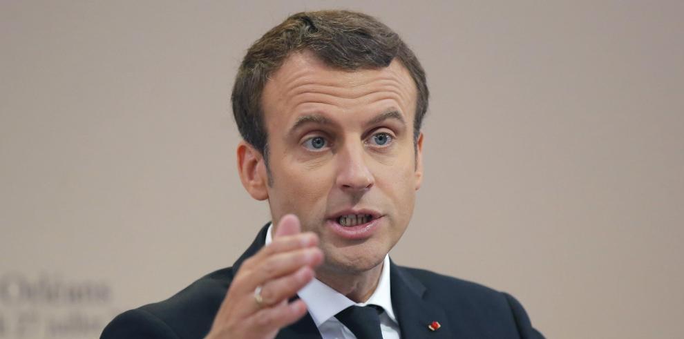 El partido de Macron denuncia a WikiLeaks por publicar documentos internos
