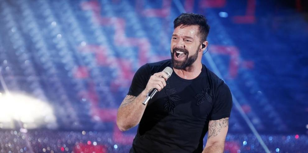 Ricky Martin ignora los rumores sobre un supuesto encuentro sexual con Maluma