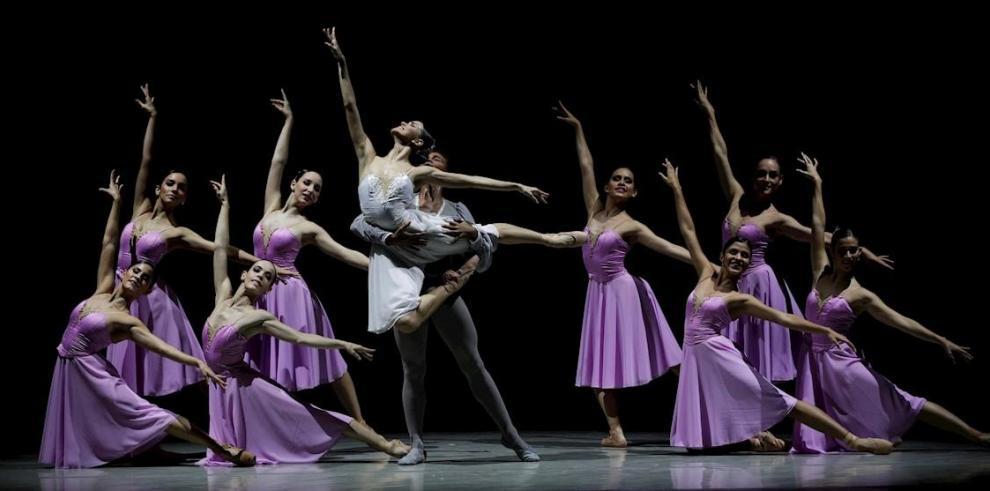 Bailarines del Ballet Nacional de Panamá