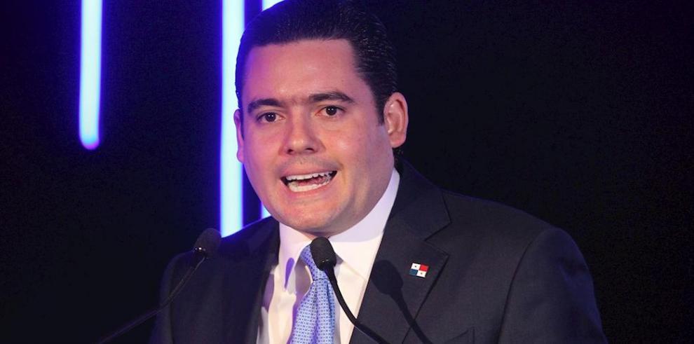 El vicepresidente José Gabriel Carrizo