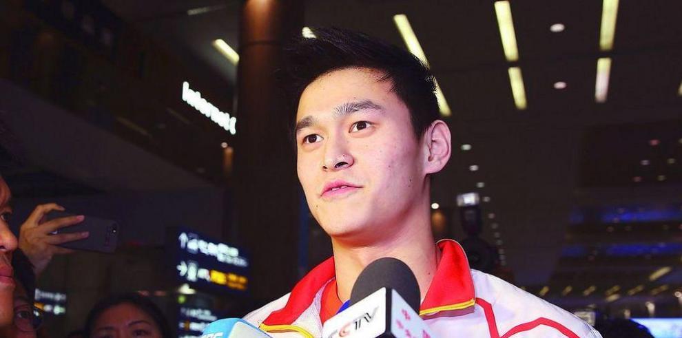 Campeón olímpico Sun Yang se dopó