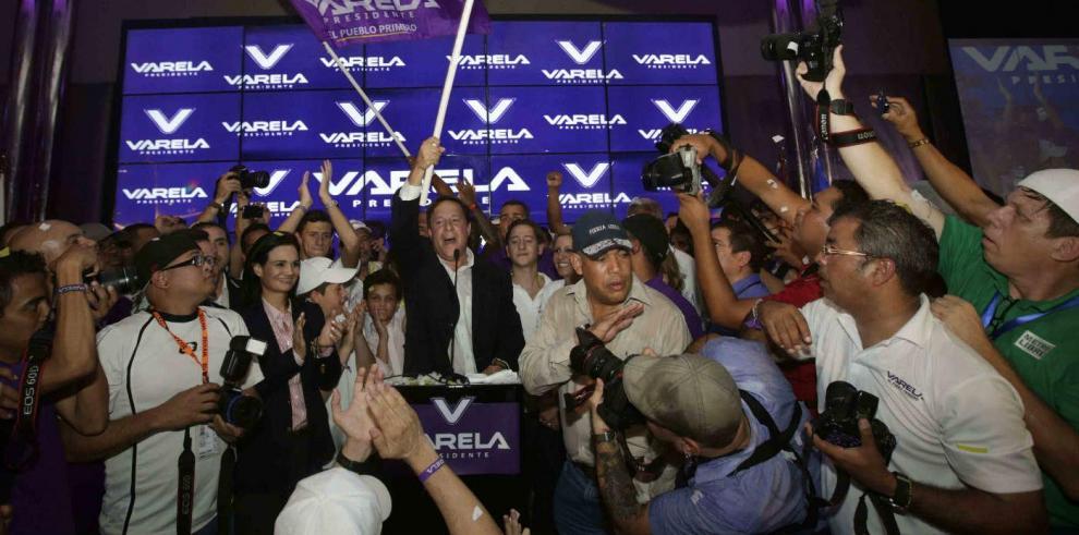 Juan Carlos Varela, presidente electo: 'haré un gobierno de consenso'