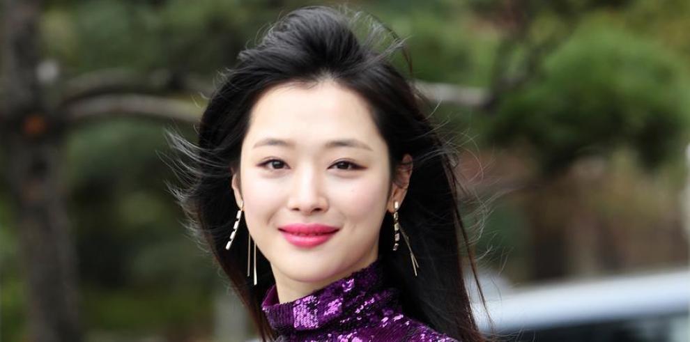 Actriz y cantante surcoreana Sulli