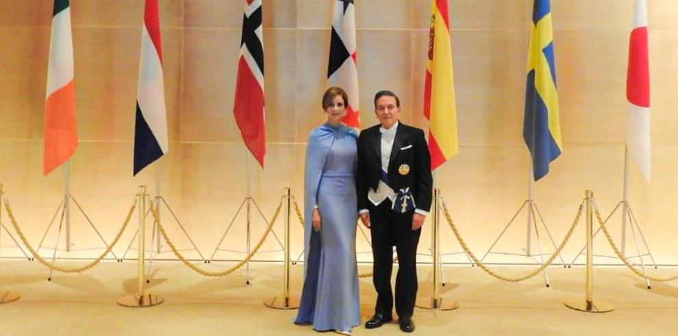 Presidente Cortizo Cohen asiste a entronización de emperador de Japón