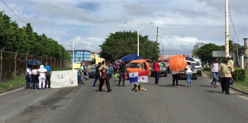 Protestas en Colón