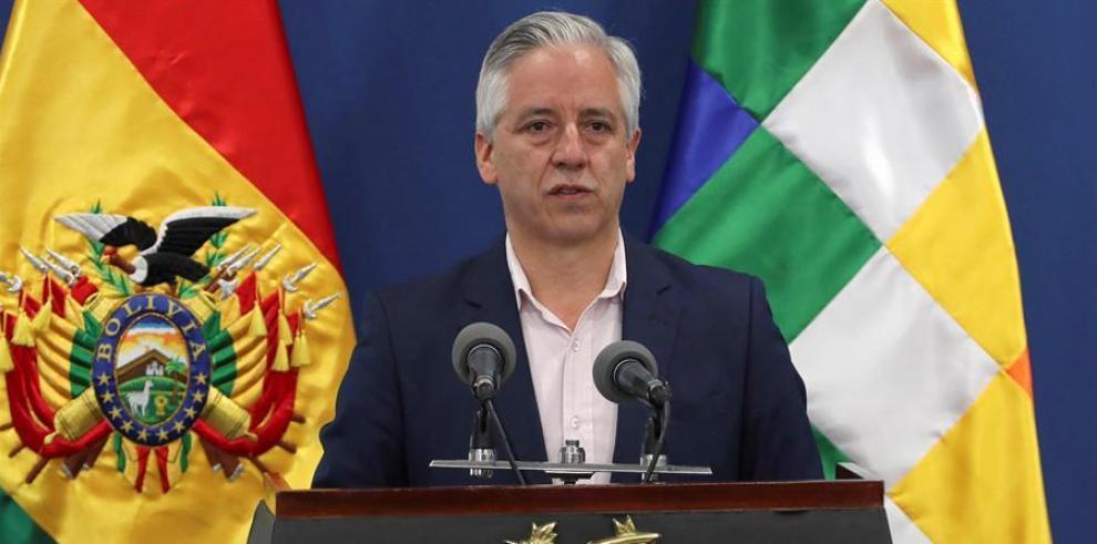 Alvaro García Linera, vicepresidente de Bolivia
