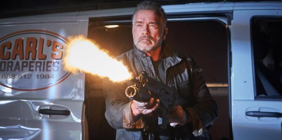 """Arnold Schwarzenegger en """"Terminator: Destino Oscuro""""."""