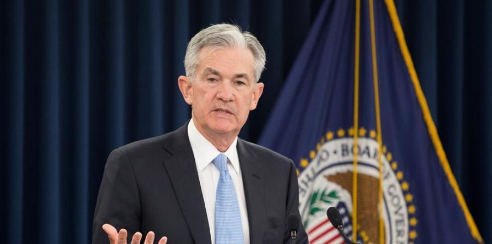 El presidente de la Reserva Federal (Fed) estadounidense, Jerome Powell.
