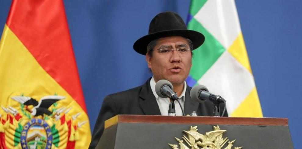 El canciller de Bolivia, Diego Pary.