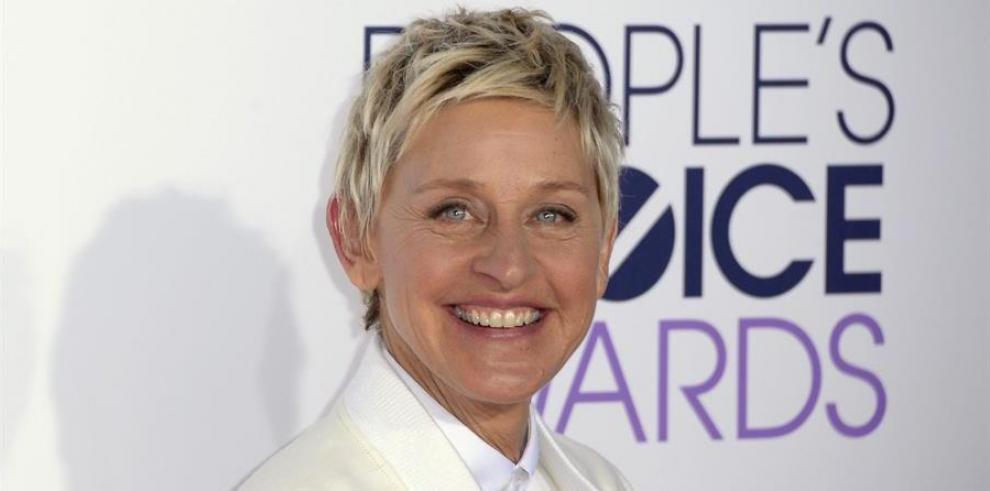Actriz y presentadora de televisión Ellen DeGeneres