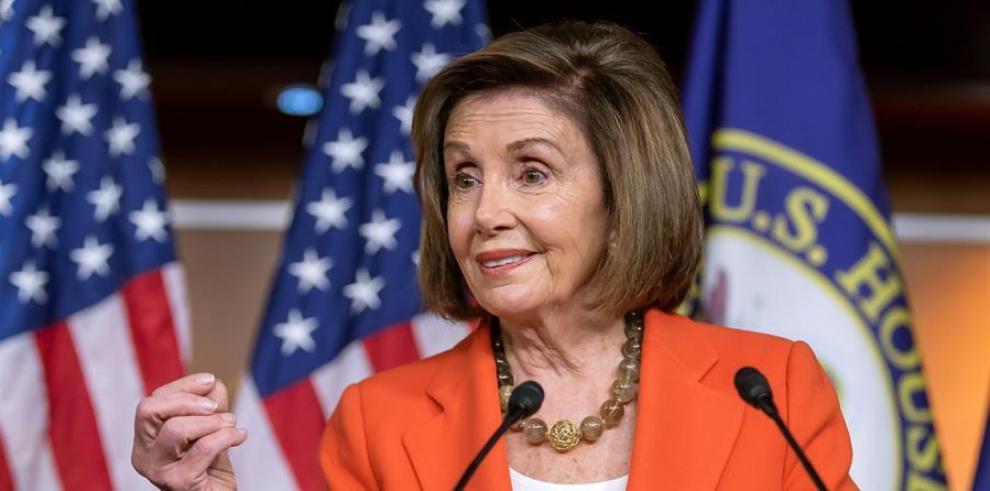 La demócrata Nancy Pelosi